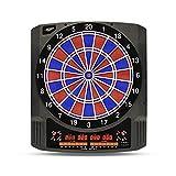 Carromco Elektronische Dartscheibe CLASSIC MASTER 2 - Dartboard für 1-8 Spieler - E-Dartautomat mit 6 LED-Anzeigen, 36 Spielen und 585 Varianten - inkl. Netzteil und 6 Softdarts